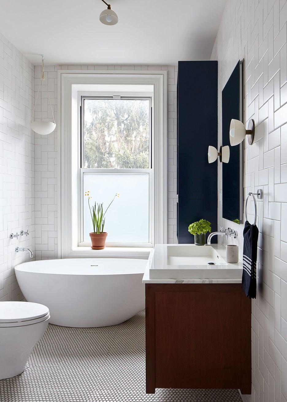 Brooklyn brownstone bathroom renovation