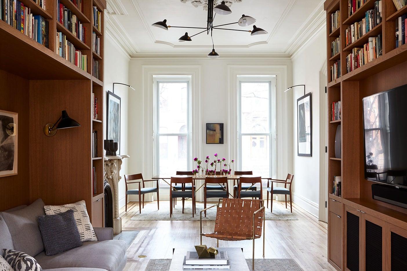 Brooklyn brownstone dining room renovation