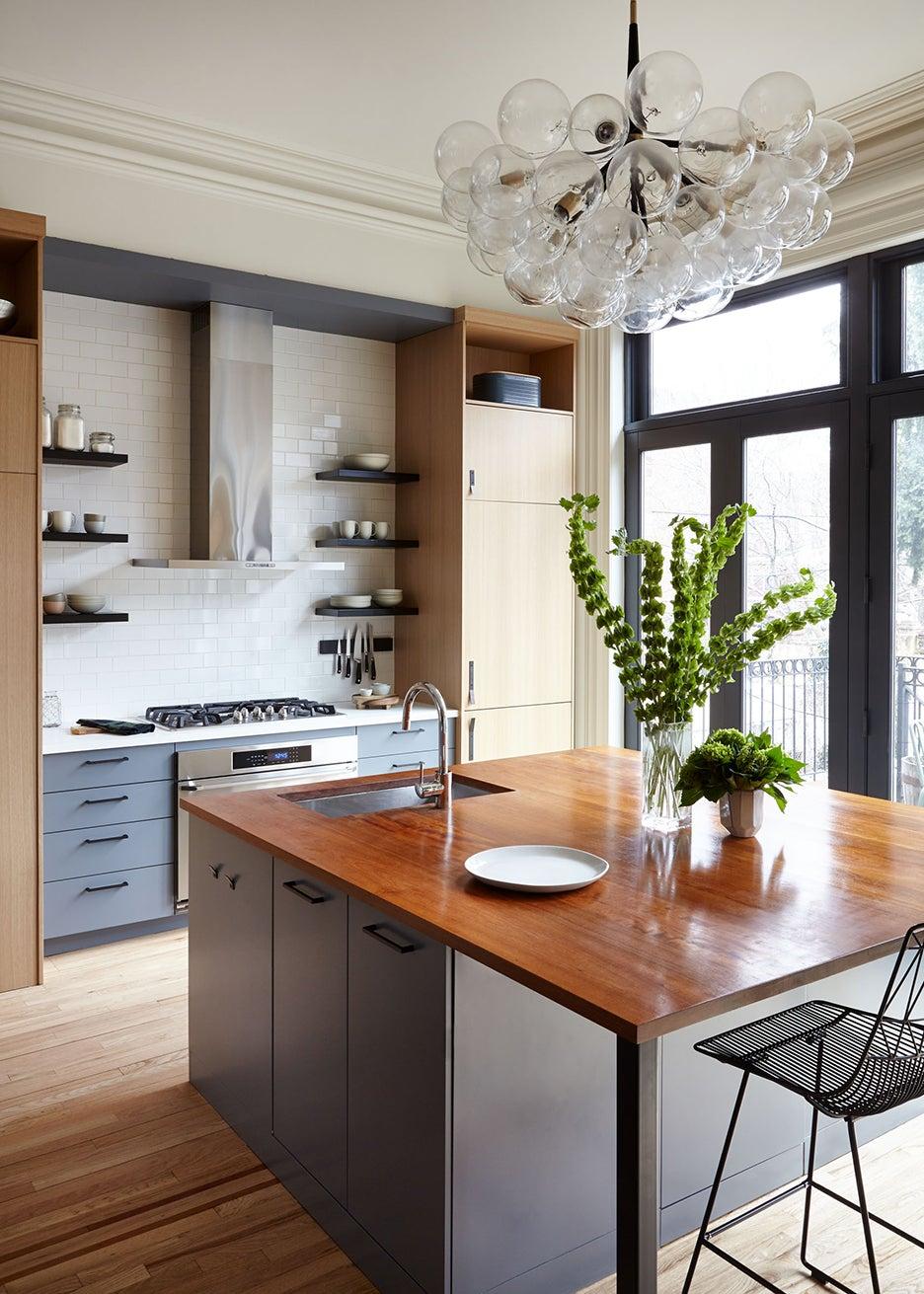 Brooklyn brownstone kitchen renovation