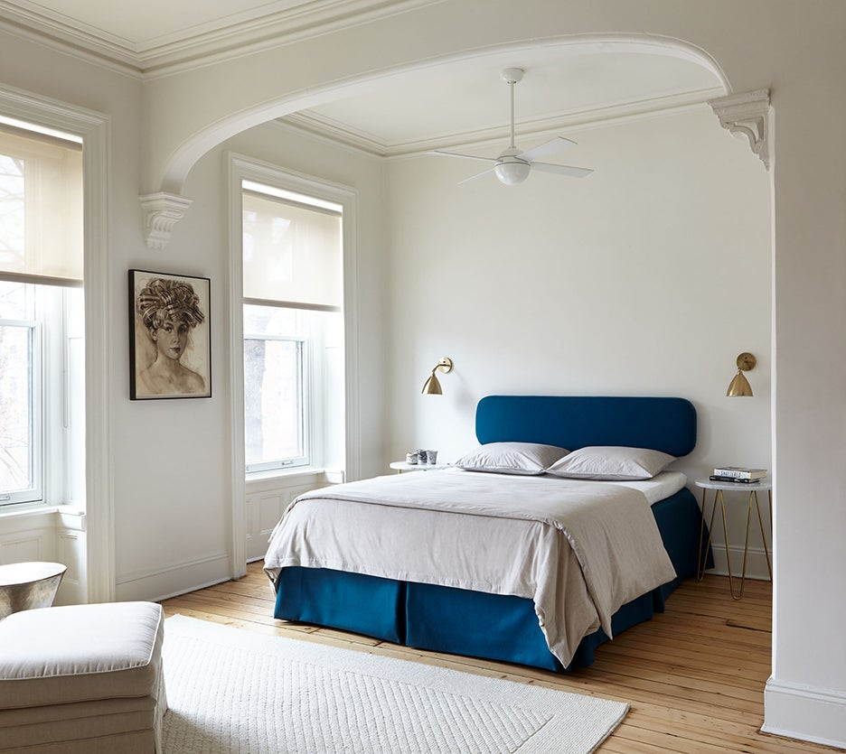 Brooklyn brownstone bedroom renovation