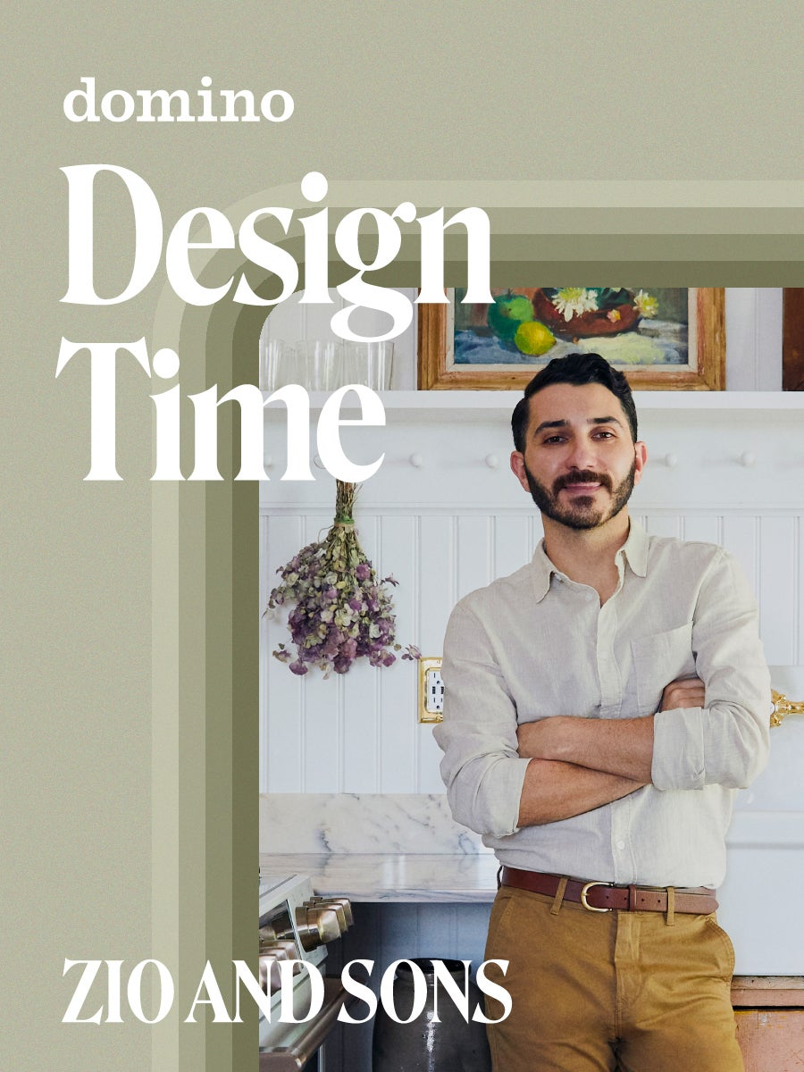 Anthony D'Argenzio's Color Pairing of Choice Is an Alternative to Typical Neutrals