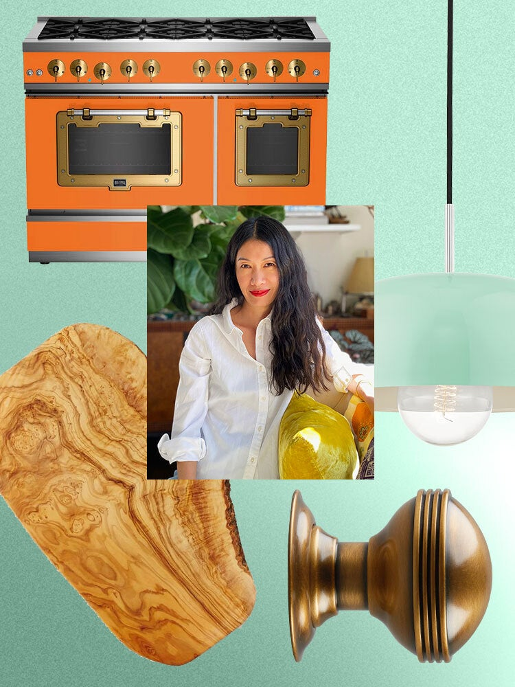 The Kitchen Cabinet Paint Color Domino's Chief Content Officer Is Dreaming About