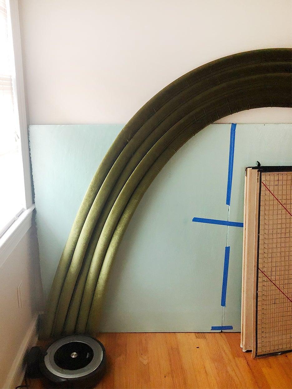 tubes on wall