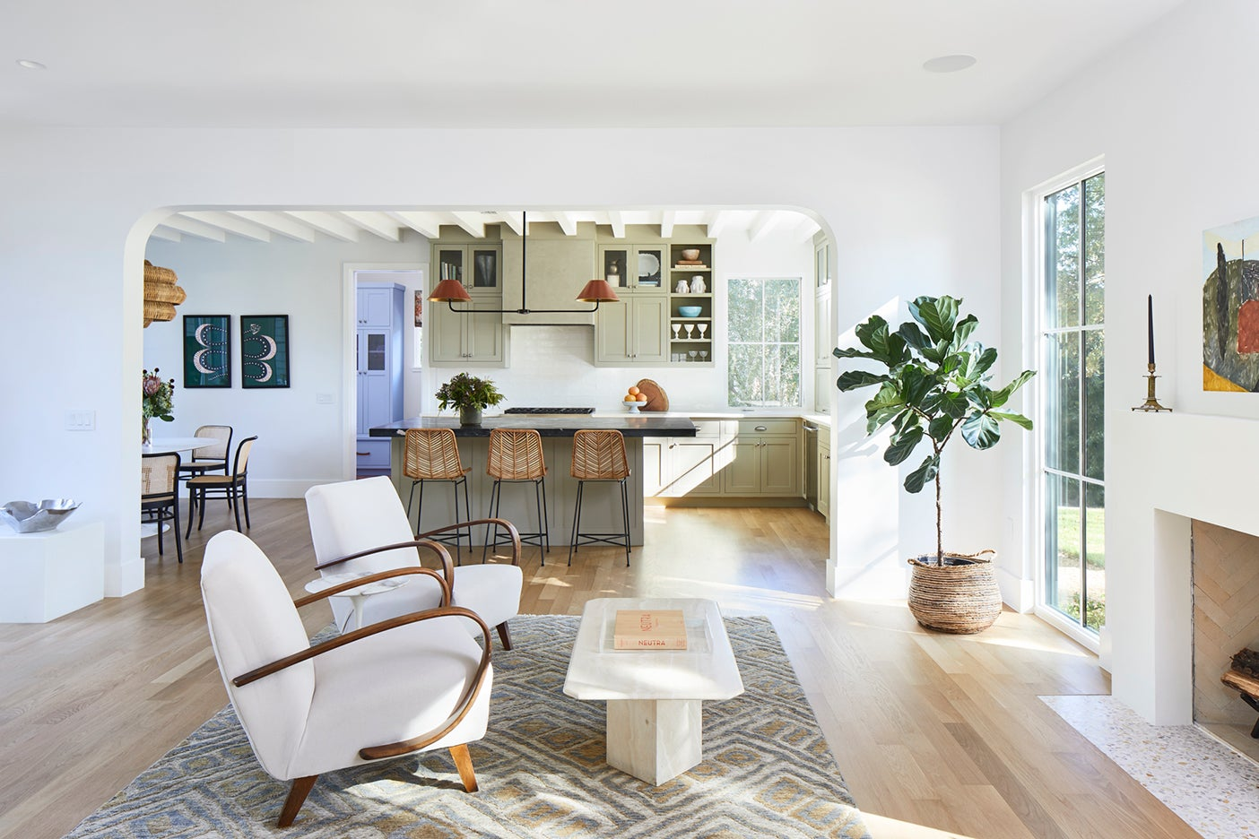 white living room armchairs