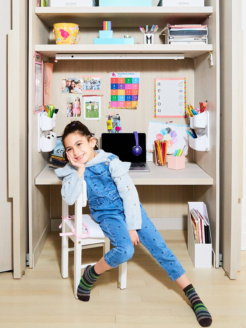 Behind These Streamlined Cabinets Is an Entire Hidden Kids' Zone