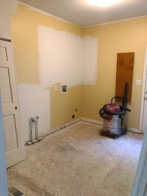 drab yellow room