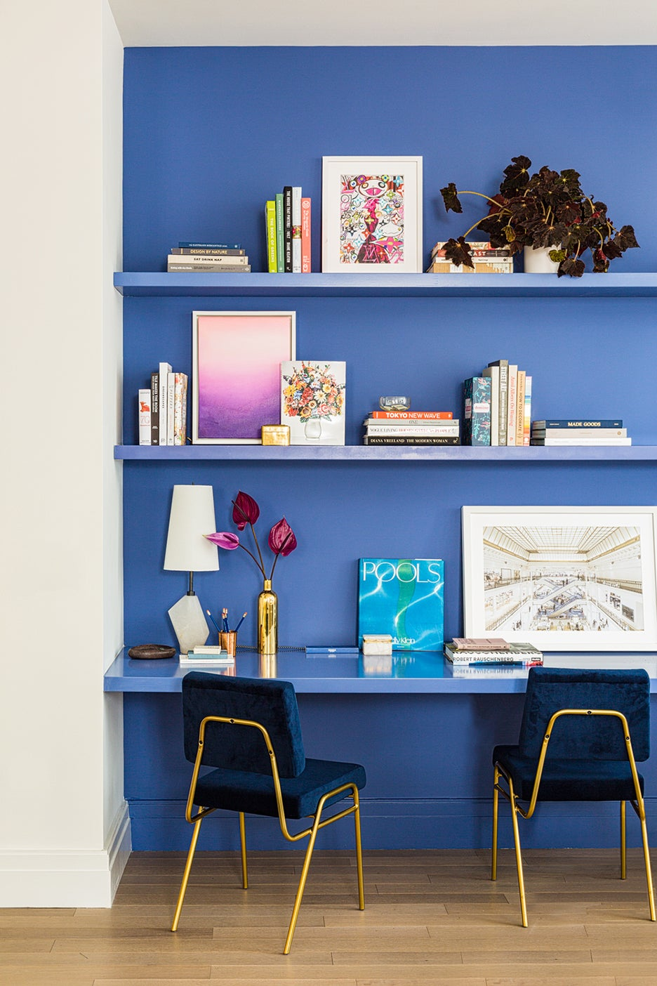 Psychologists Say These Colors Are Best to Paint a Home Office
