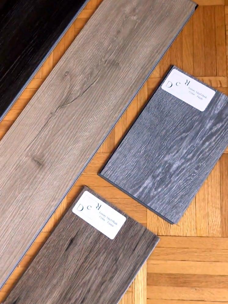 vinyl wood floor samples