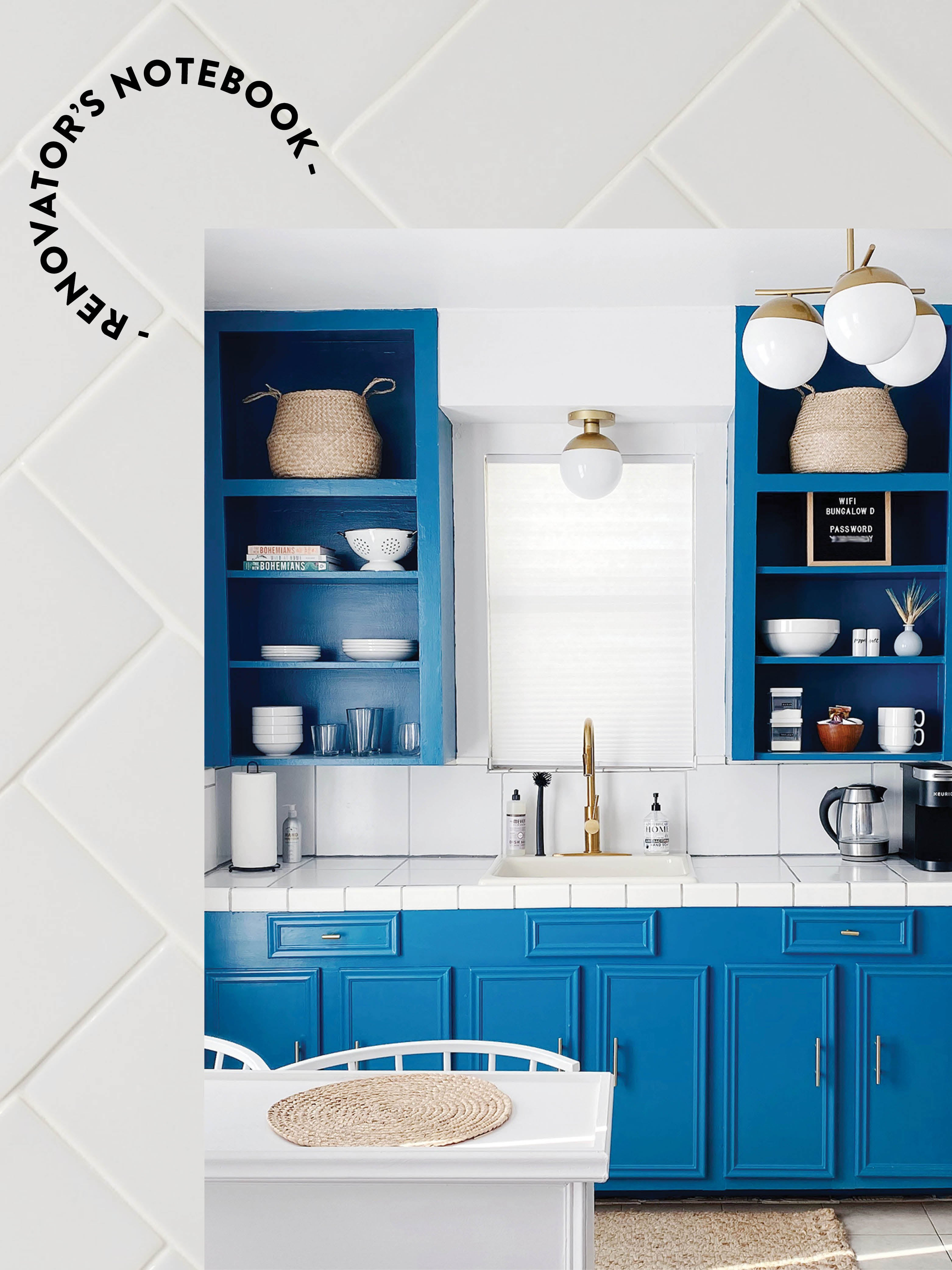 All the Mistakes We Made During Our $2.5K DIY Kitchen Remodel