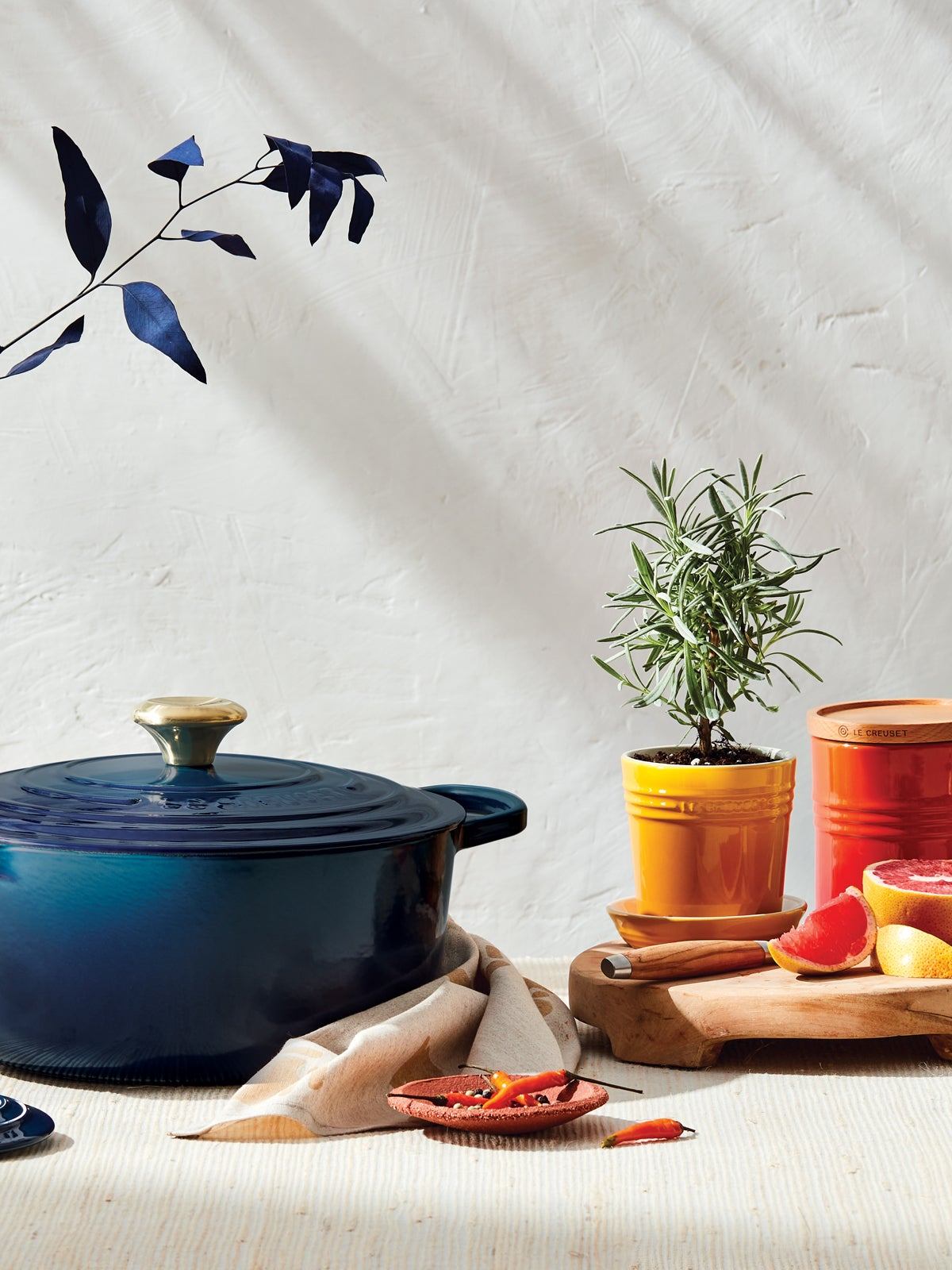 We Asked a Le Creuset Insider: What Colors Are You Betting On for 2021?