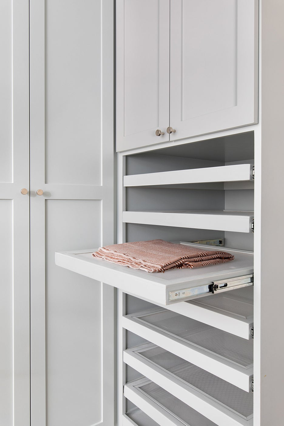 rag on a shelf