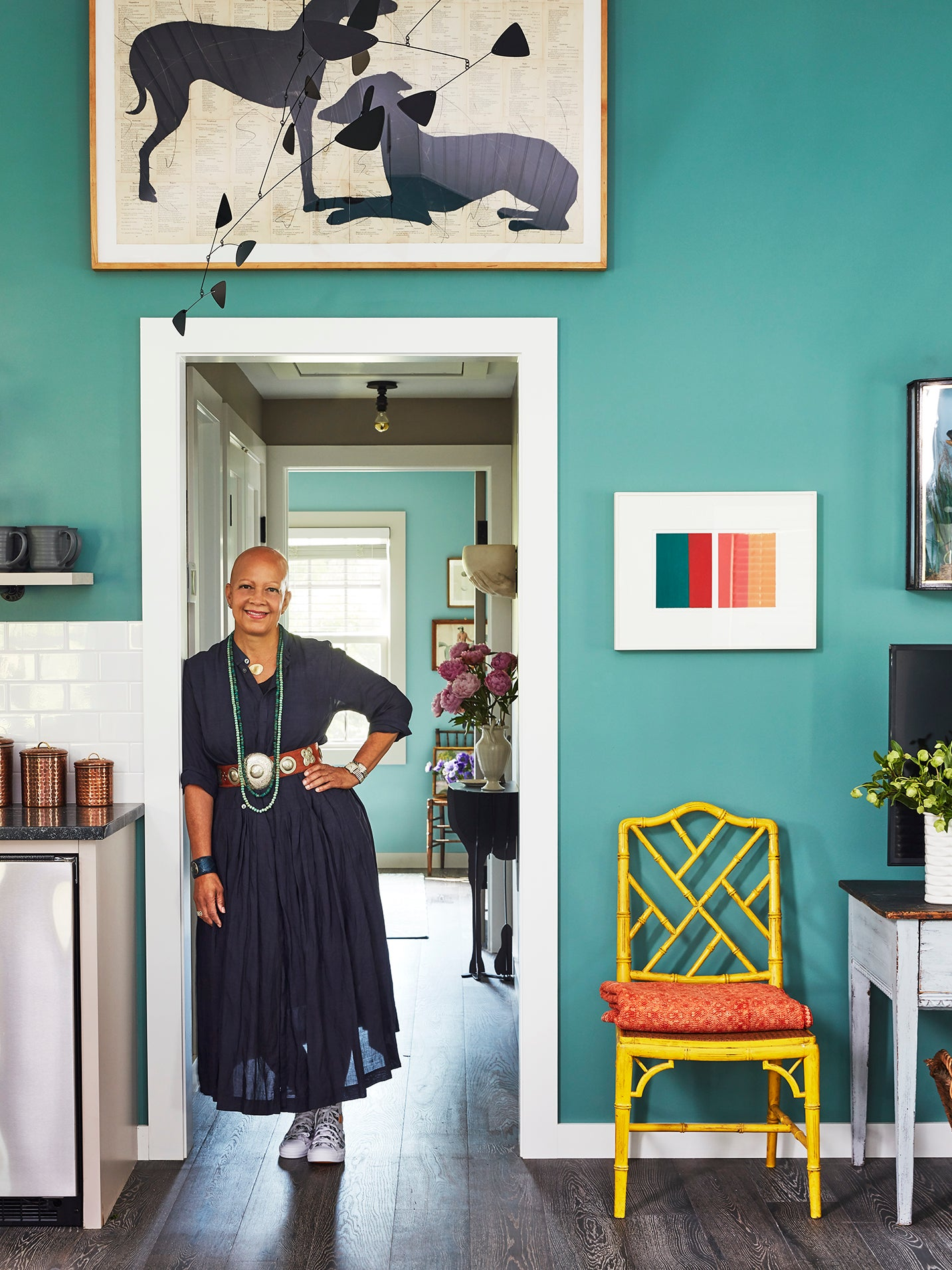 In Less Than 5 Months, Sheila Bridges Overhauled Her Hudson Valley Guesthouse