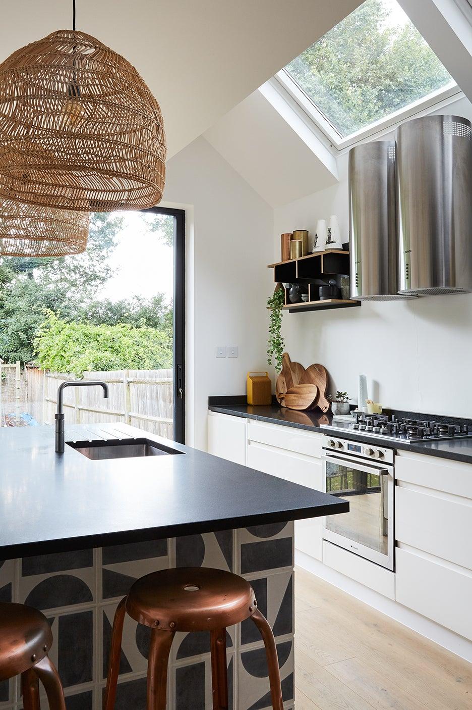 tiled kitchen islamd