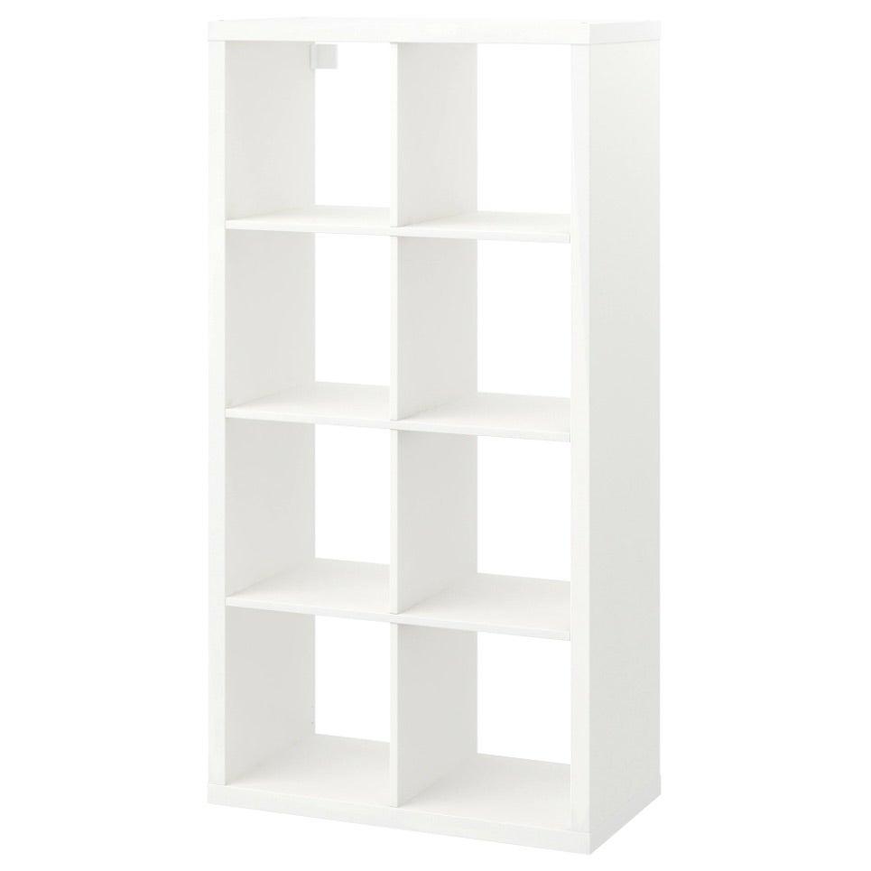 an IKEA bookcase