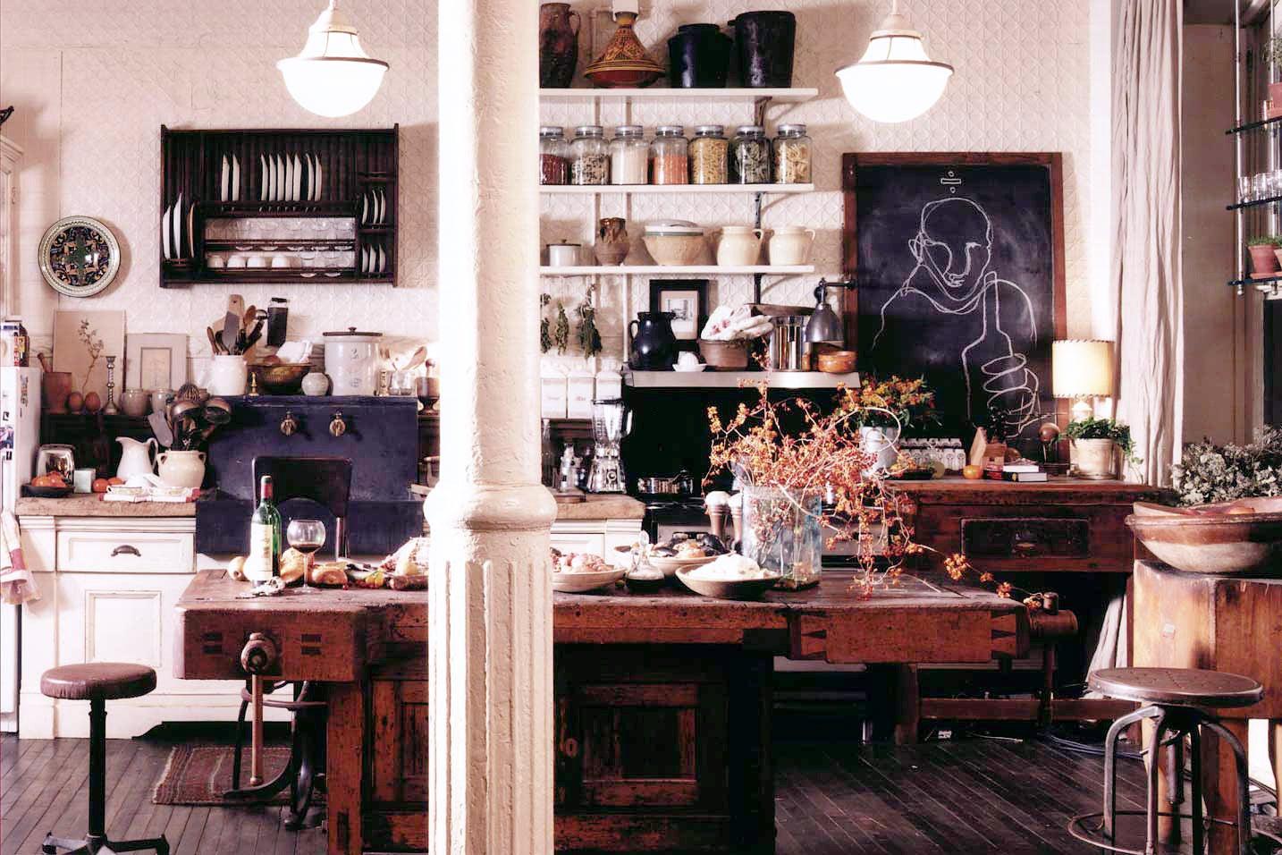 a nancy meyers style kitchen