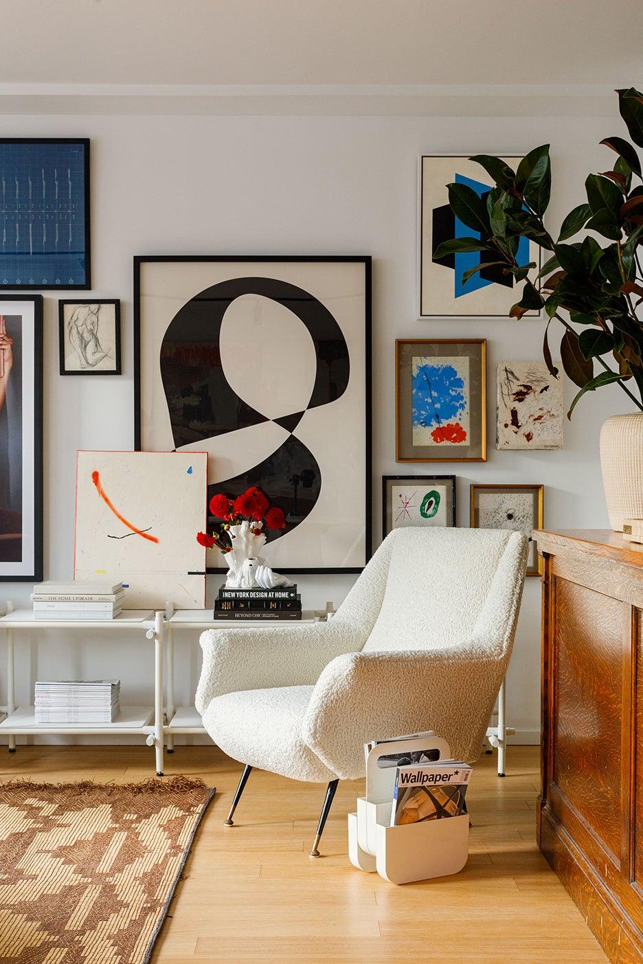a chicago living room