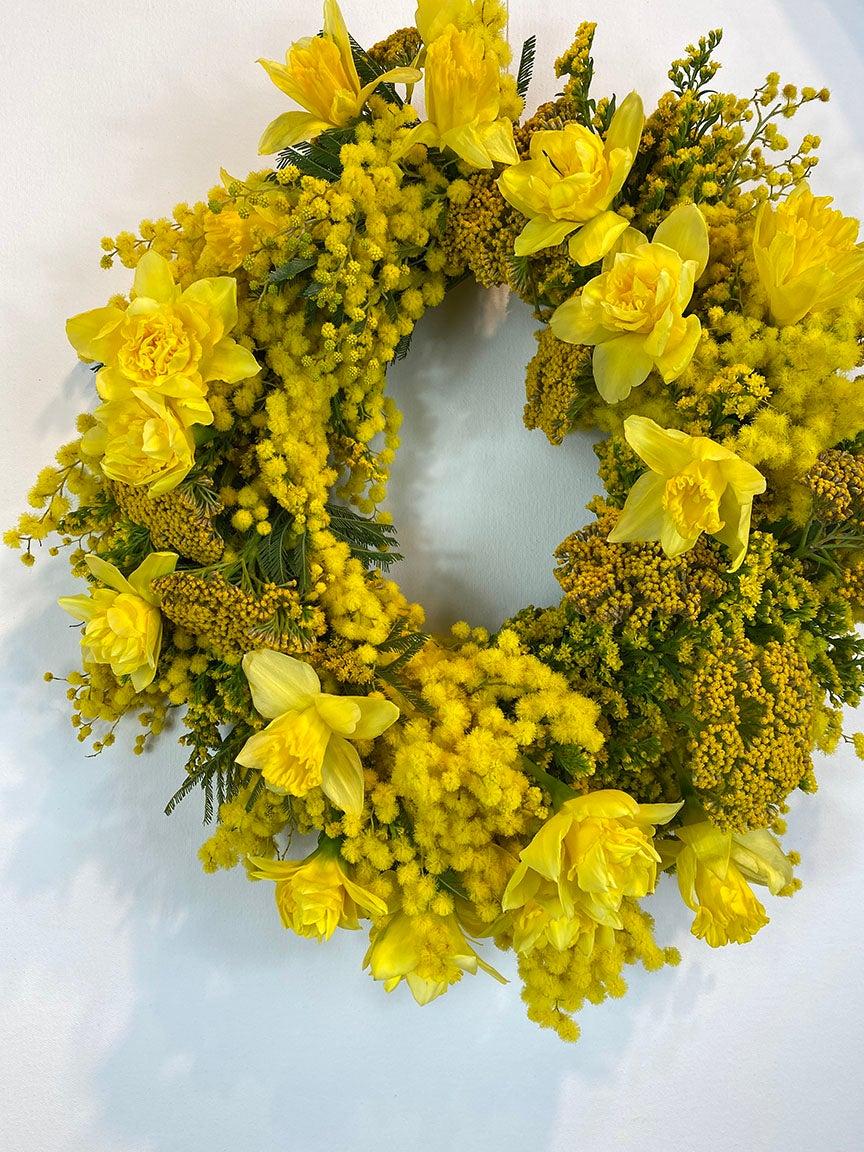 golden yellow werath