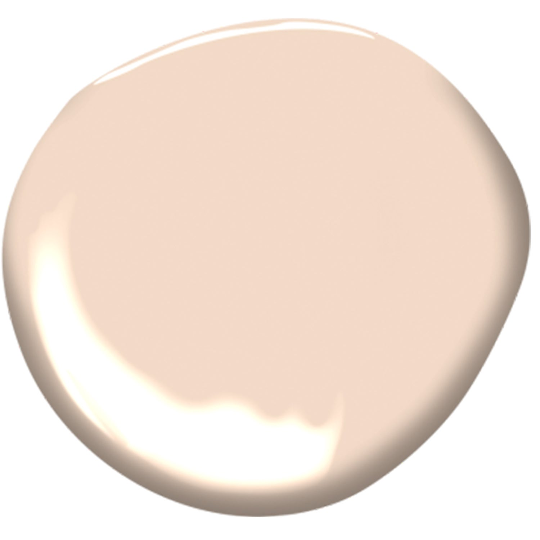 pale pink paint blob
