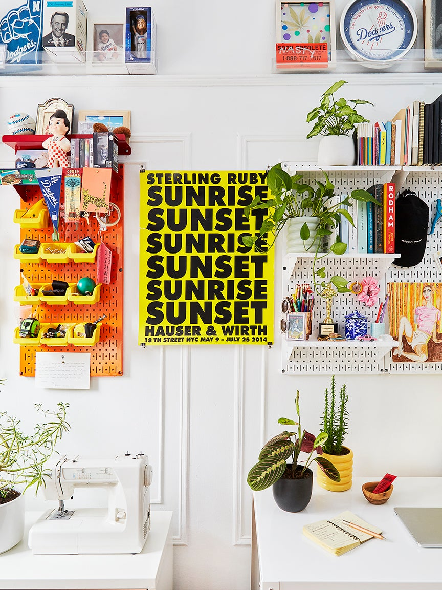 This $35 Amazon Pegboard Appears Not Once, But Twice in Our Home Office