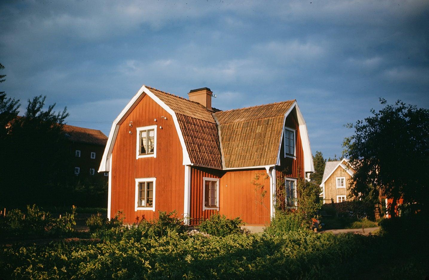 a swedish farmhouse