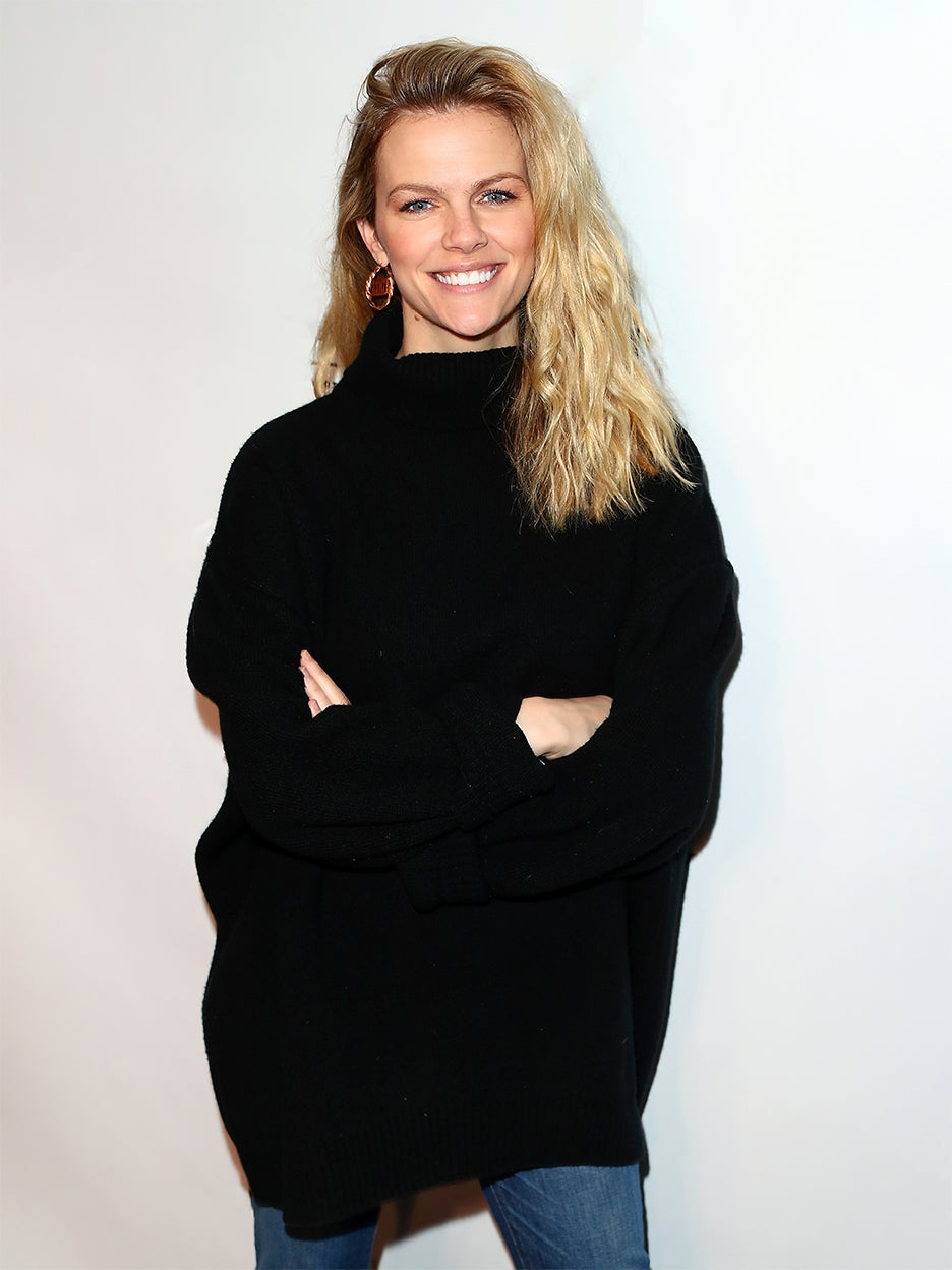 brooklyn decker in black sweater