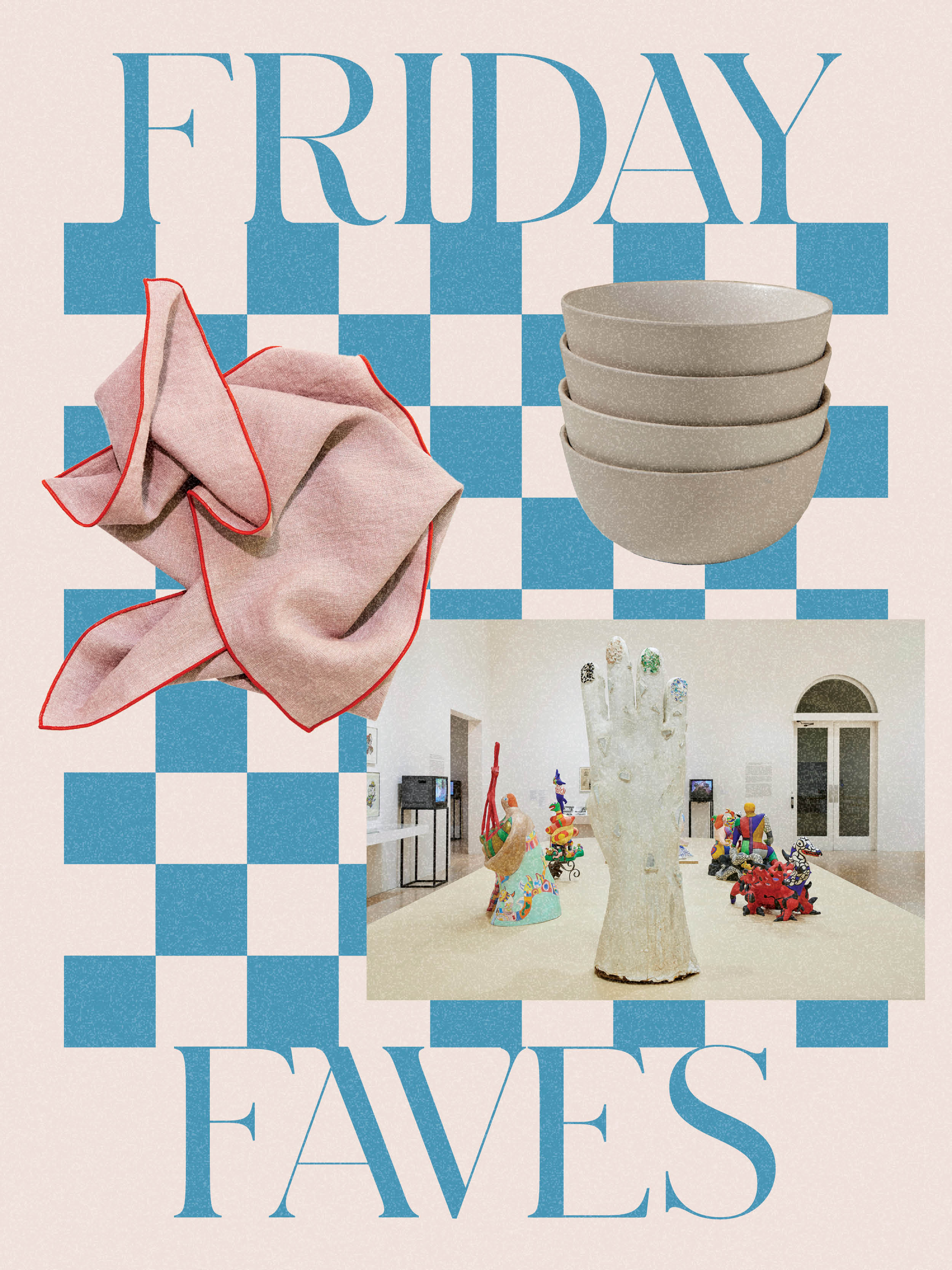 Wavy Wall Trims, Vivid Linen Napkins, and the Ceramics Drop You Don't Want to Miss