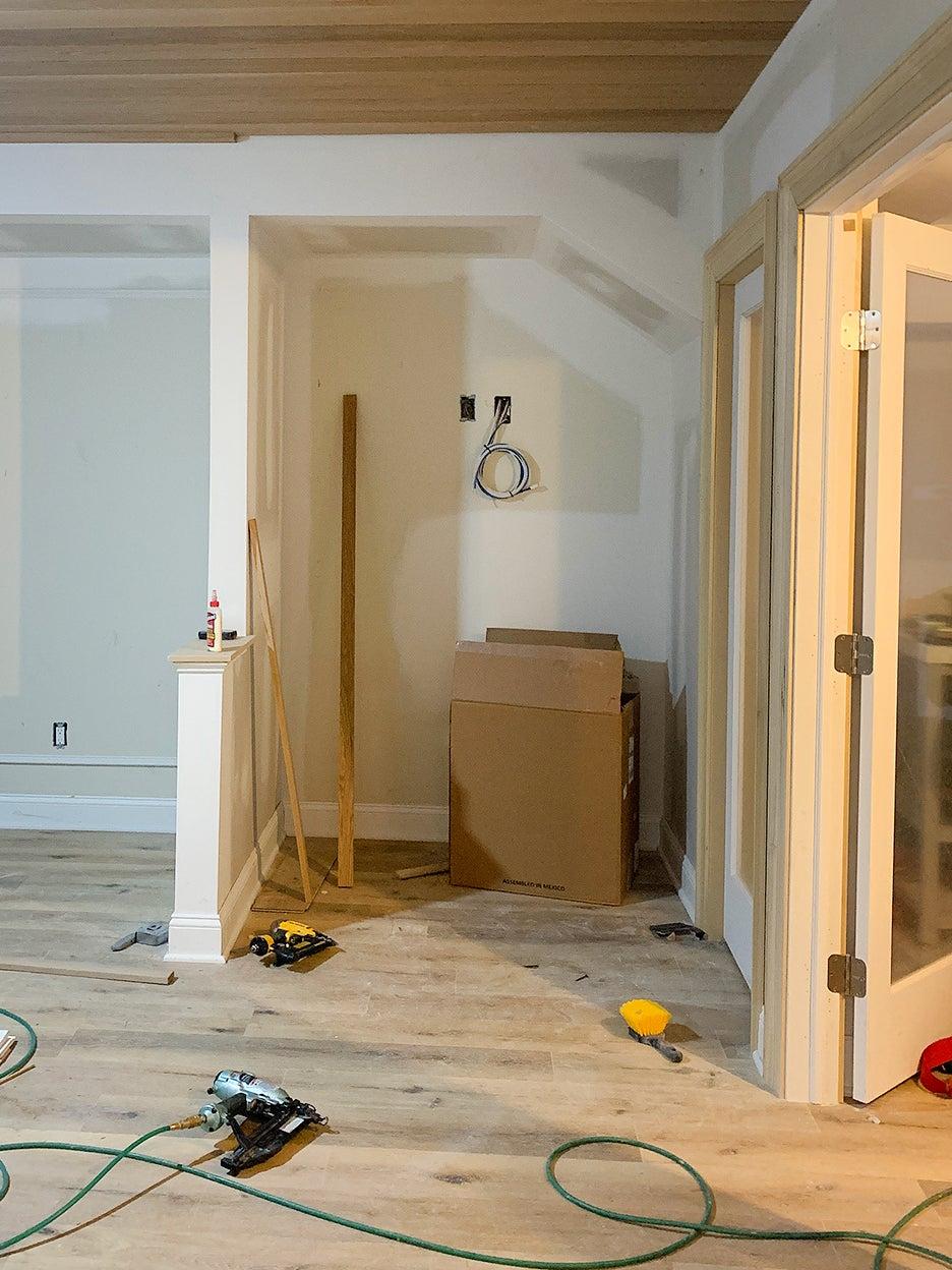 under construction basement