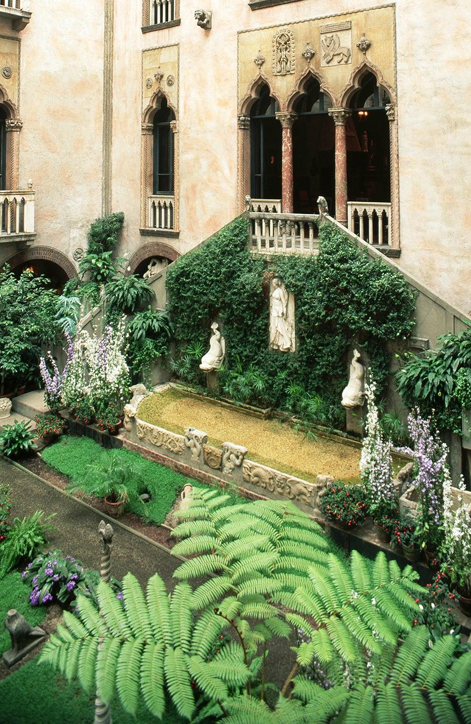 a museum garden
