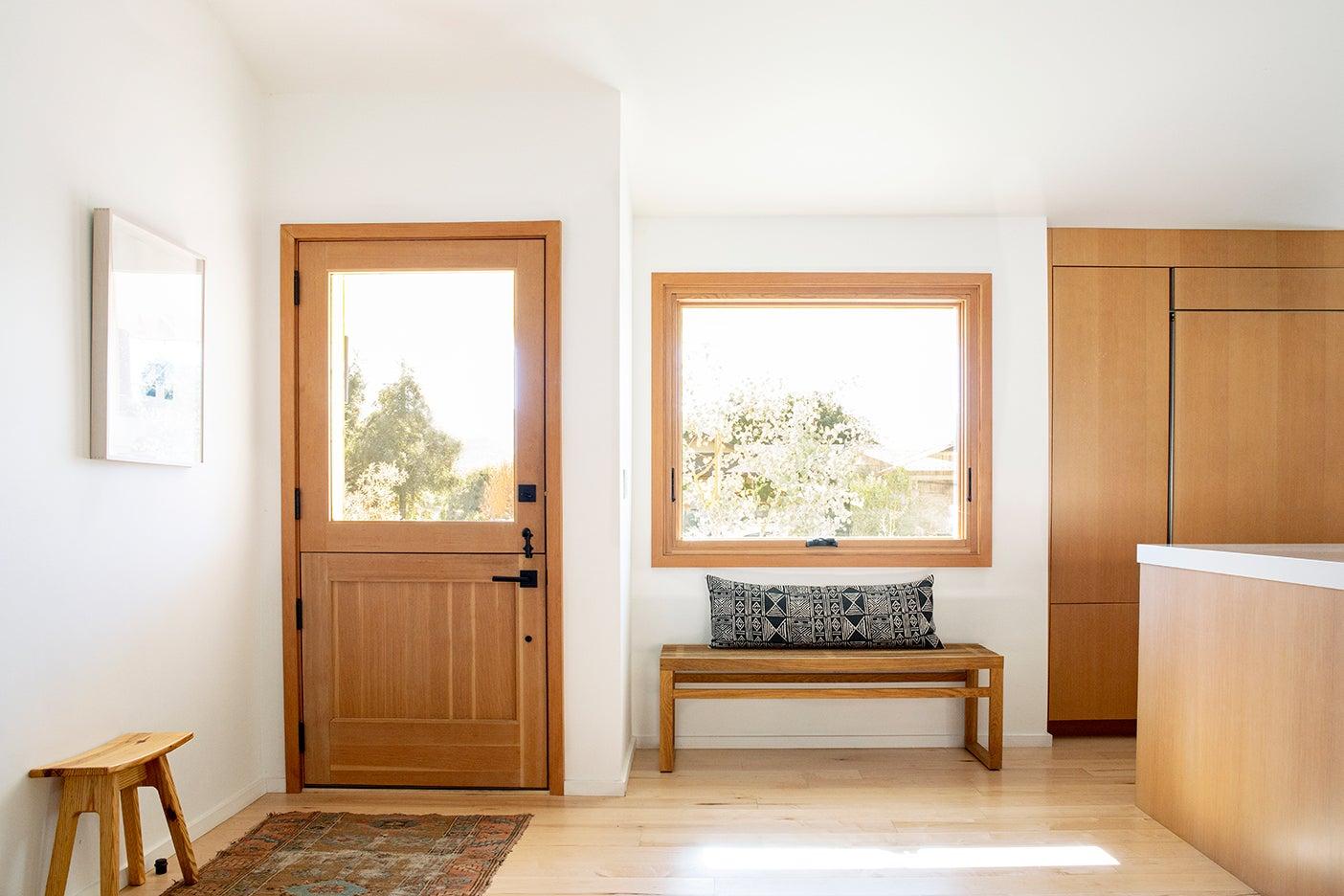 dutch door next to big window