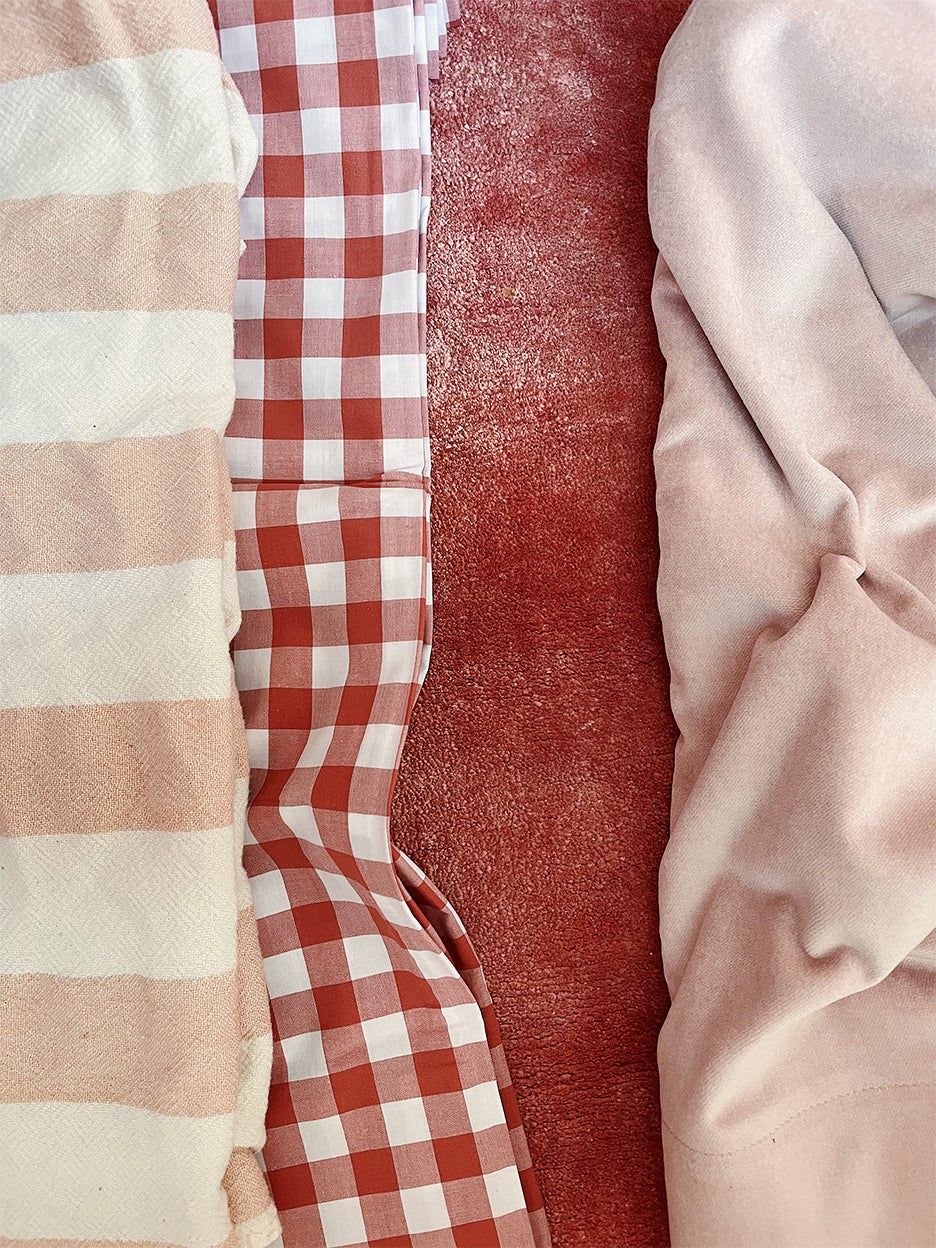 multiple swatches of fabric