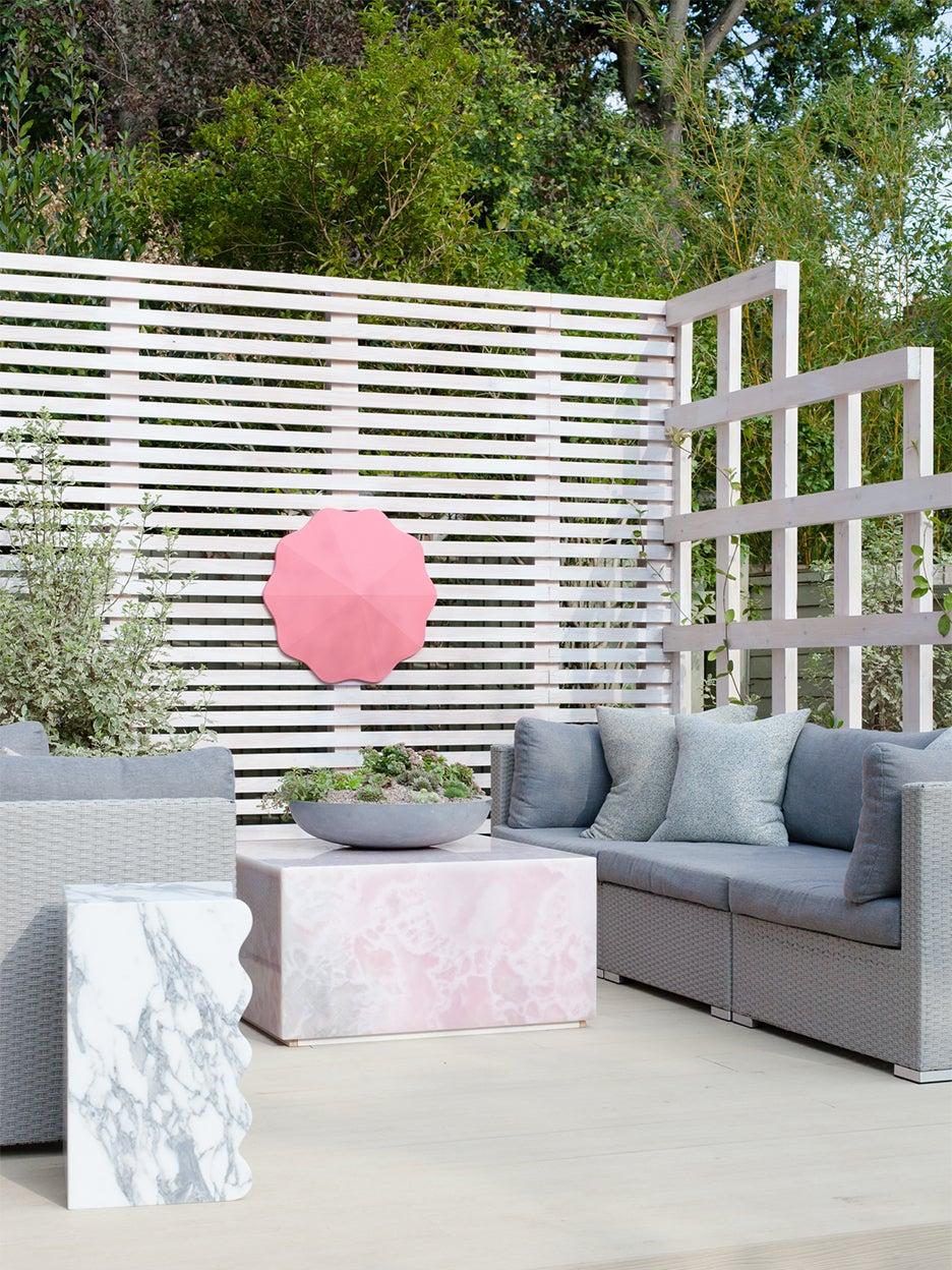 gray outdoor sofas