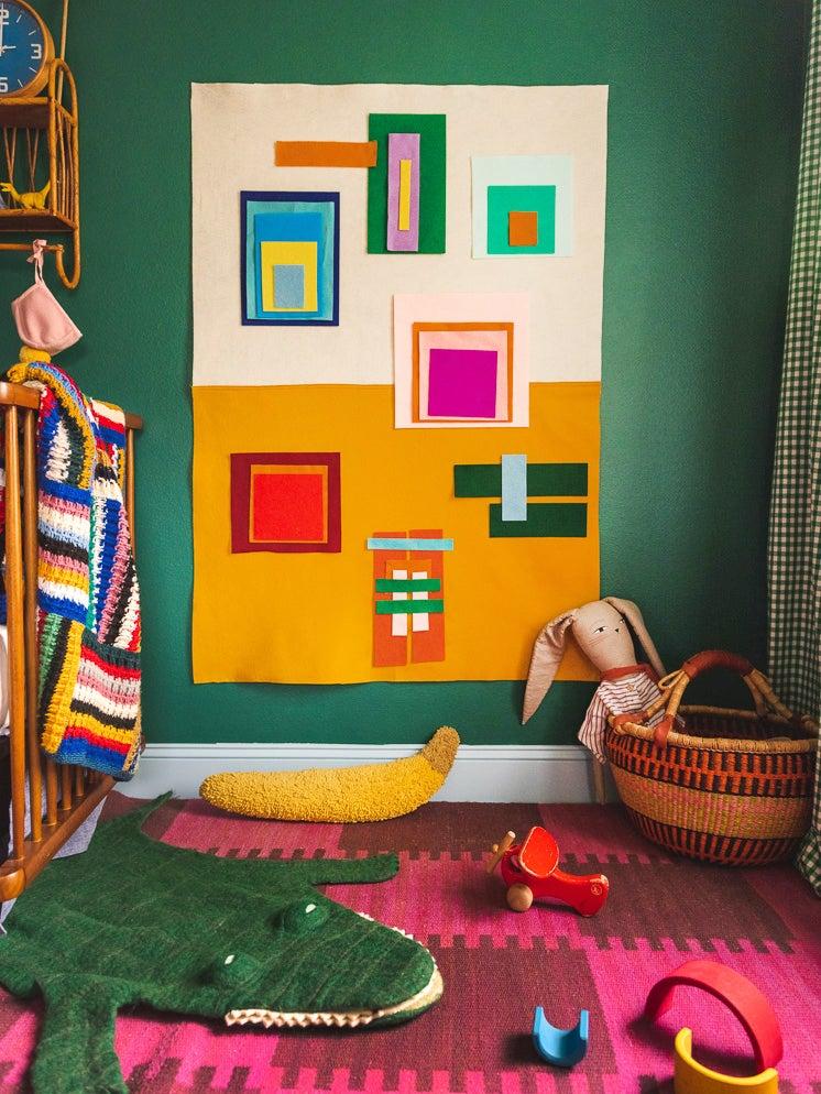 A 15-Minute DIY That Doubles as a Mini Modern Art Piece