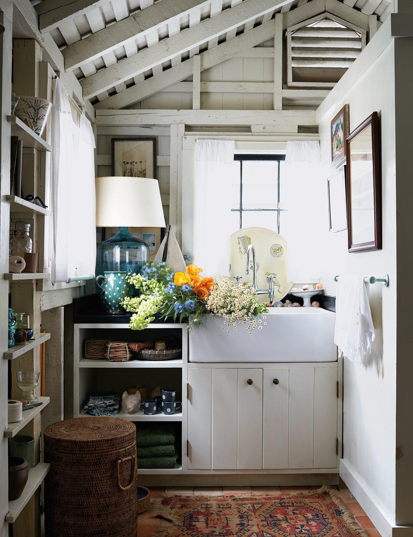 a kitchen pantry