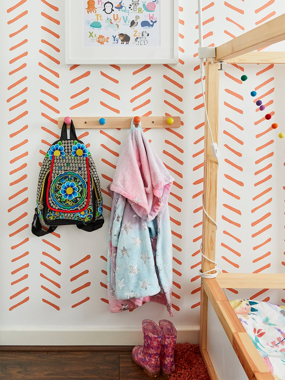 Why a London Mom Translated This Classic Design to Her Daughter's Bedroom Walls