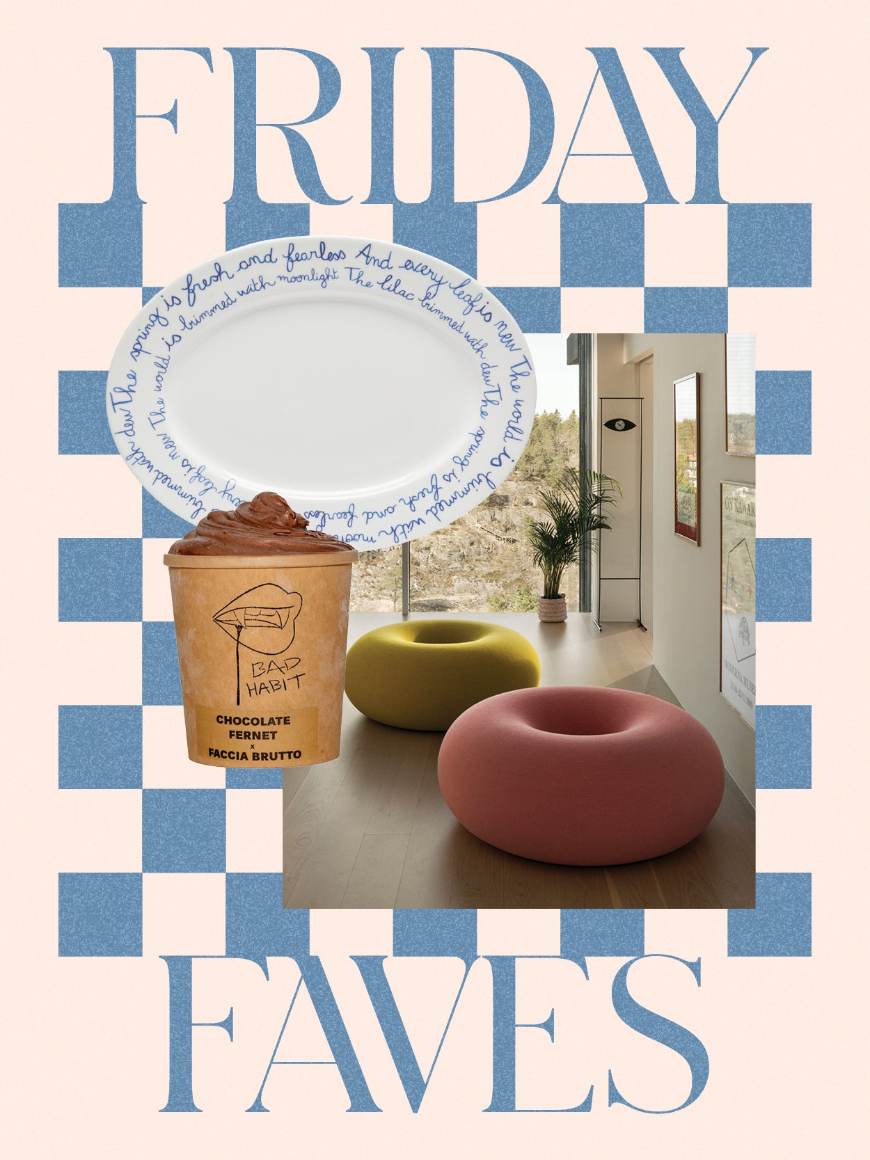 A Doughnut Pouf, an Easy IKEA Upgrade, and 3 Other Things We Can't Stop Thinking About