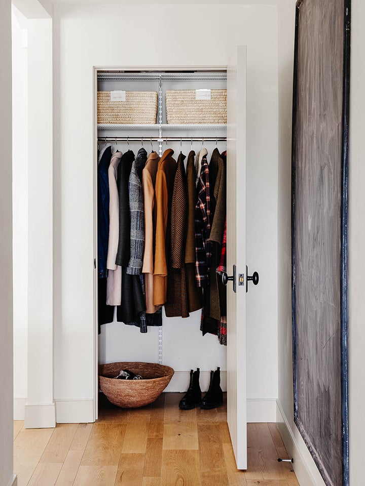 The Top 3 Organization Tips We Learned From Amber Lewis's Hall Closet Redo