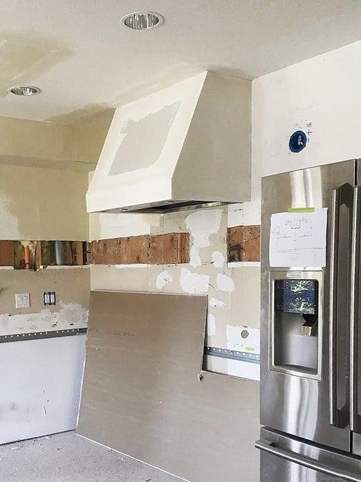 new kitchen mid-build
