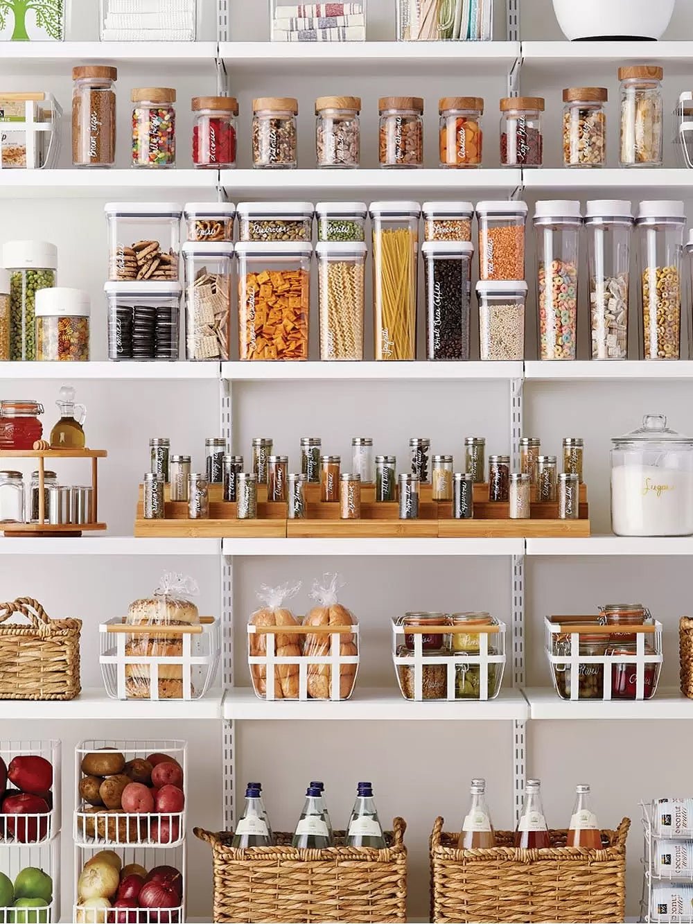 Our Editors' Favorite Container Store Storage System Is Now on Speed Dial