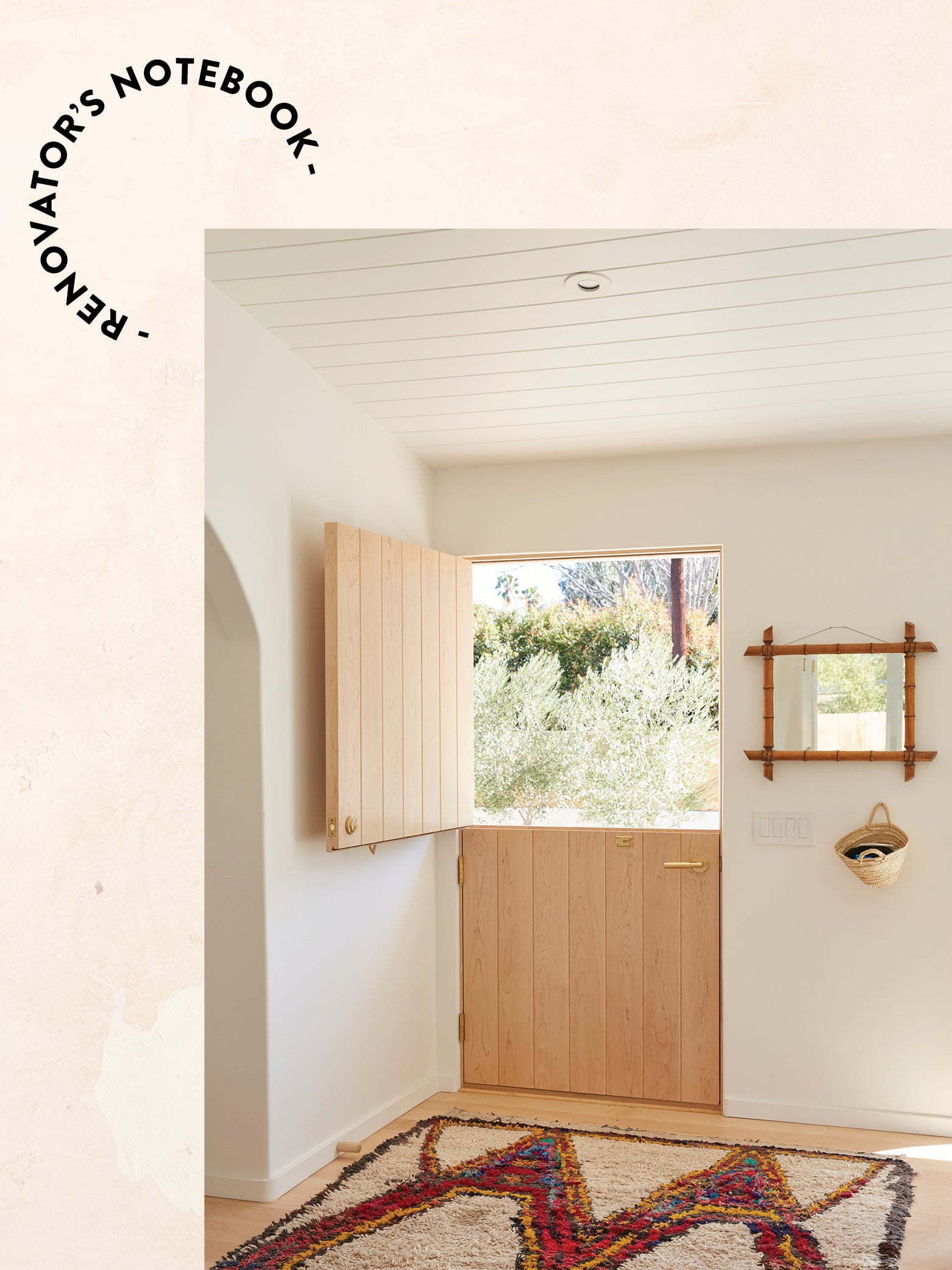 With $350K, I Gave My Ojai House Arches, Terrazzo Floors, and Even an Impromptu Dog Door