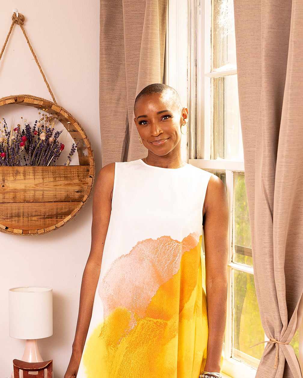 Afrominimalist Christine Platt portrait
