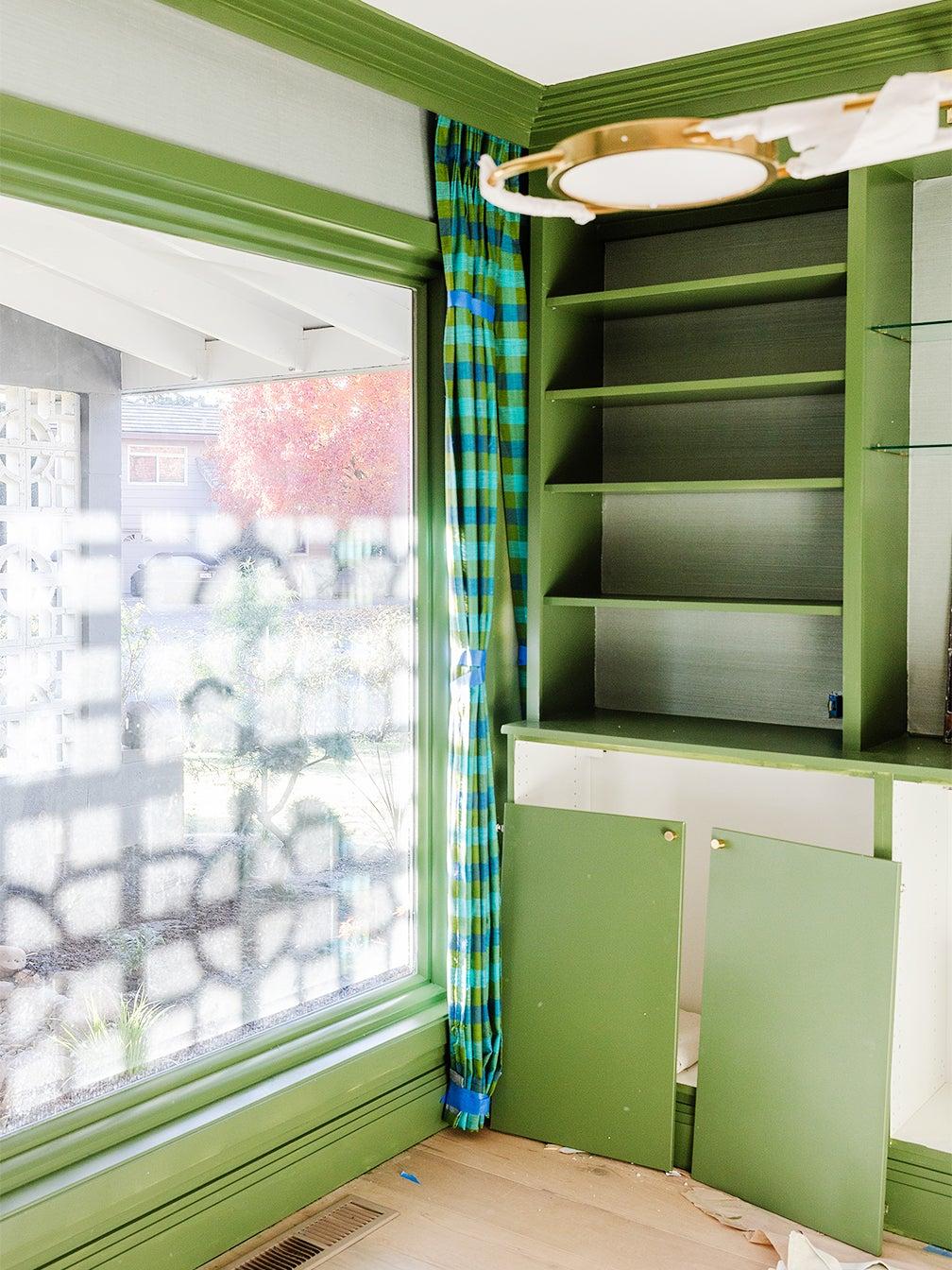 cabinet doors off hinges