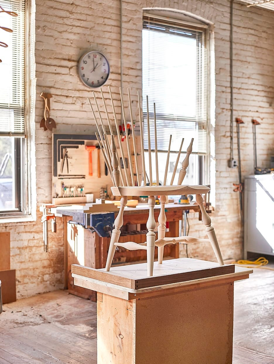 Meet the Woodworker Who's Making These 18th-Century Chairs Cool Again