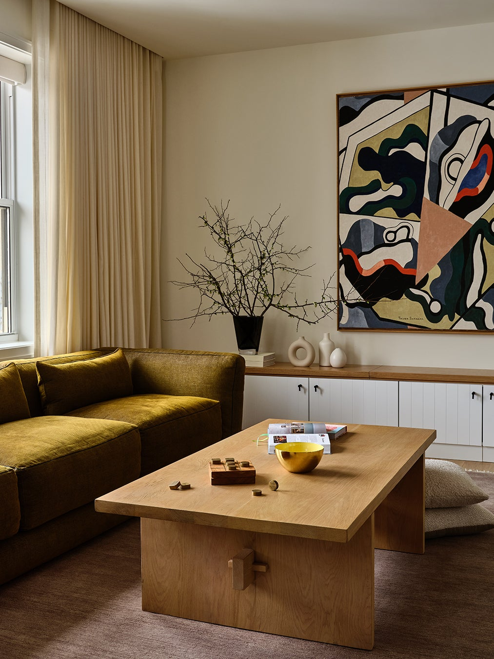 The Architectural Detail That Made This Family Room Work for Everyone