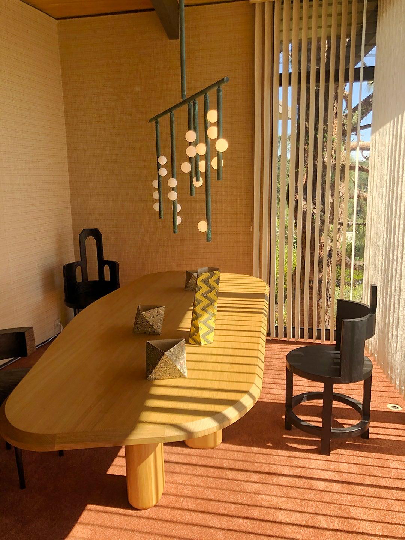 light shining dining room