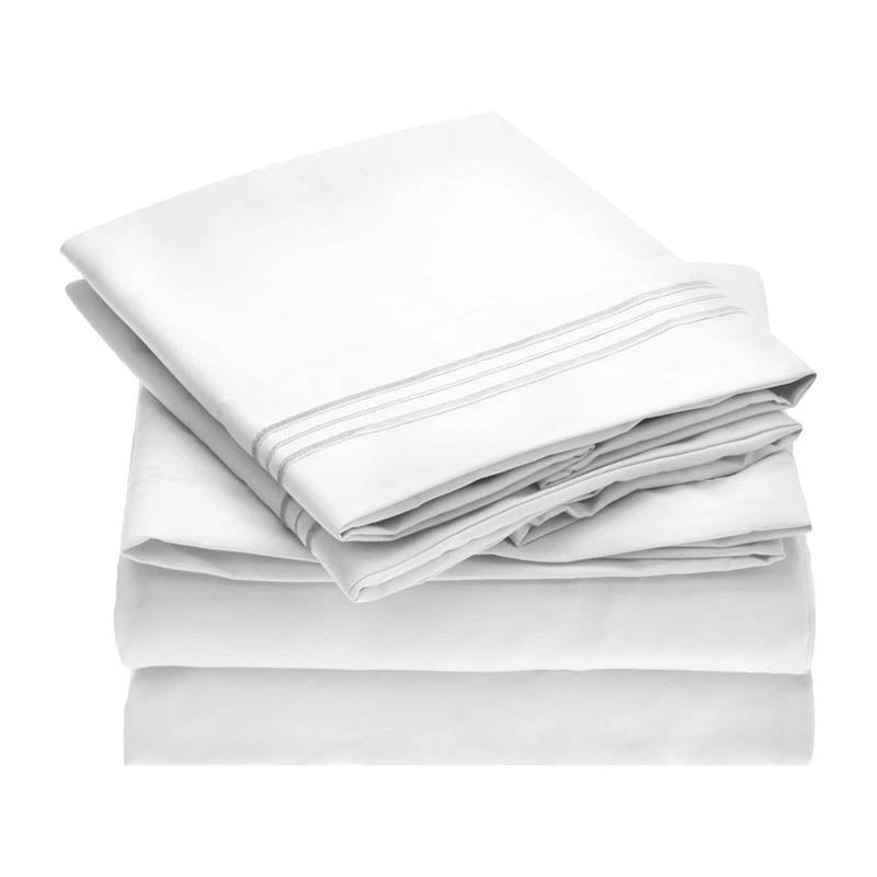 The Best Sheet Sets Option Mellanni 1800 Collection Microfiber Sheet Set