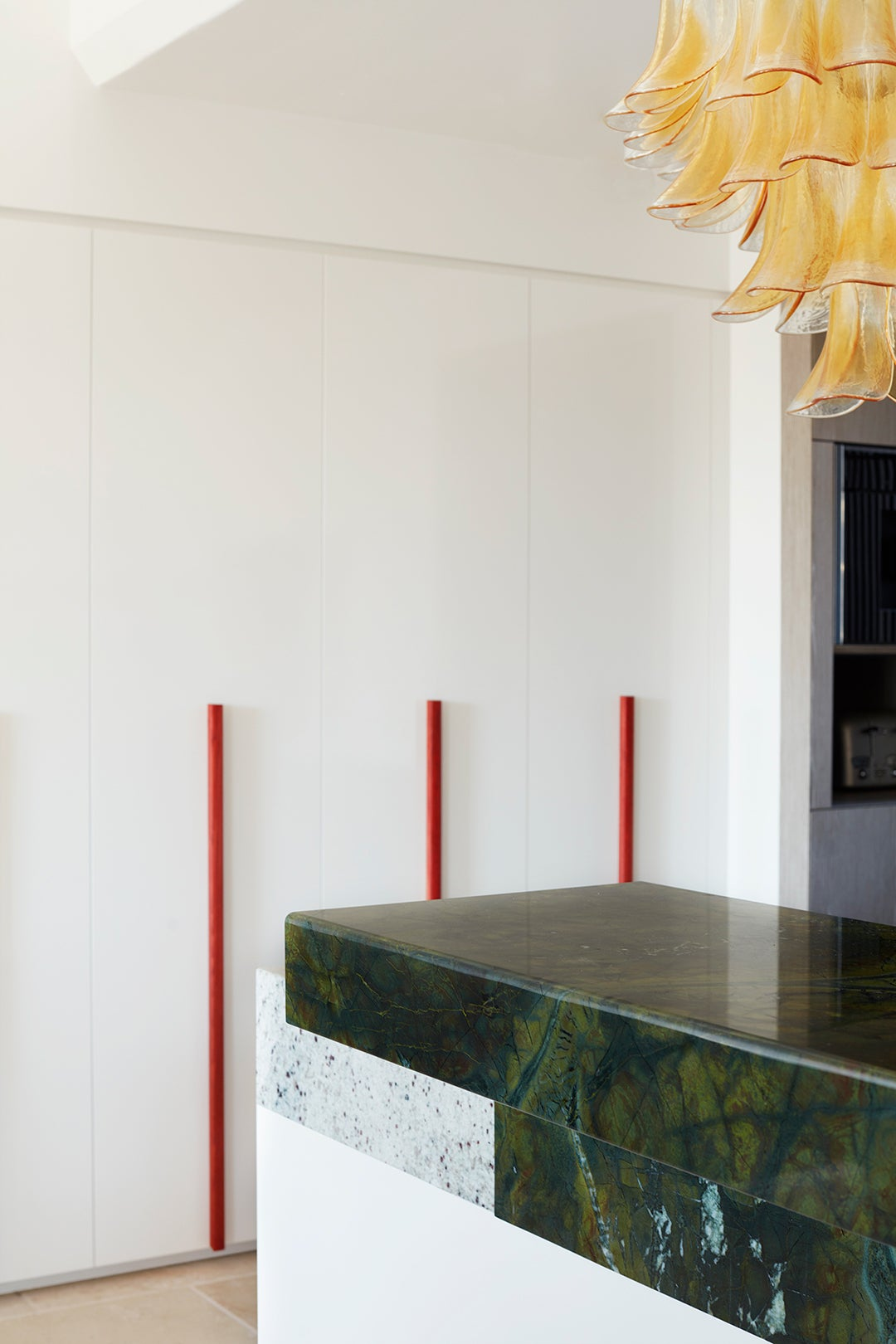 long red door handles