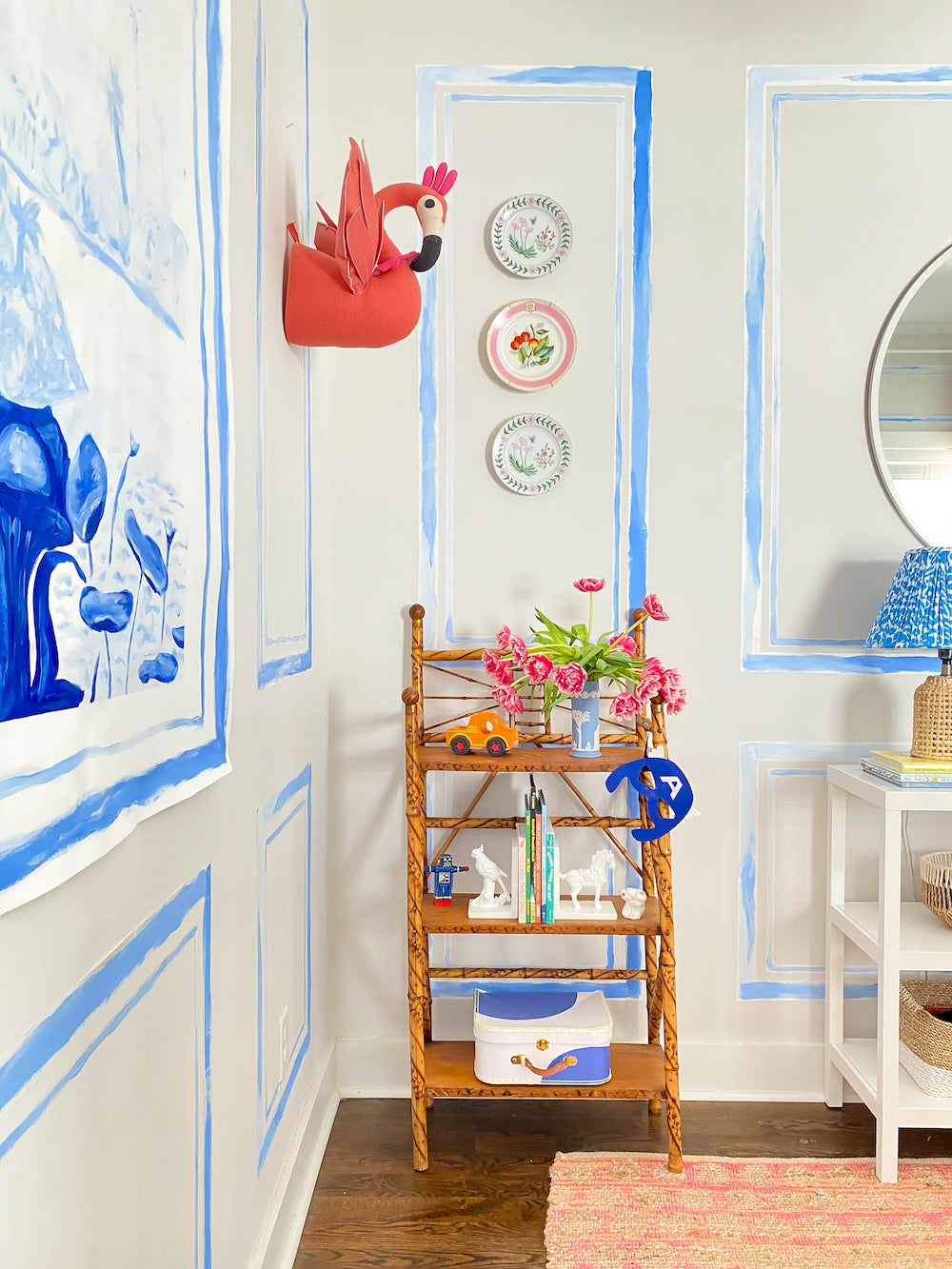 This $10 Trick Gave A Nashville Nursery Its Dreamy Storybook Spin