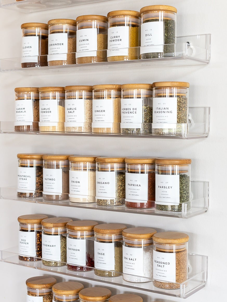 We've Done the Impossible and Found 6 Spice Rack Ideas for Small Kitchens