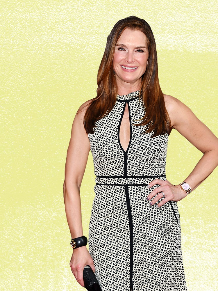 Brooke Shields Stores Her Beauty Overstock in These Sleek Container Store Bins