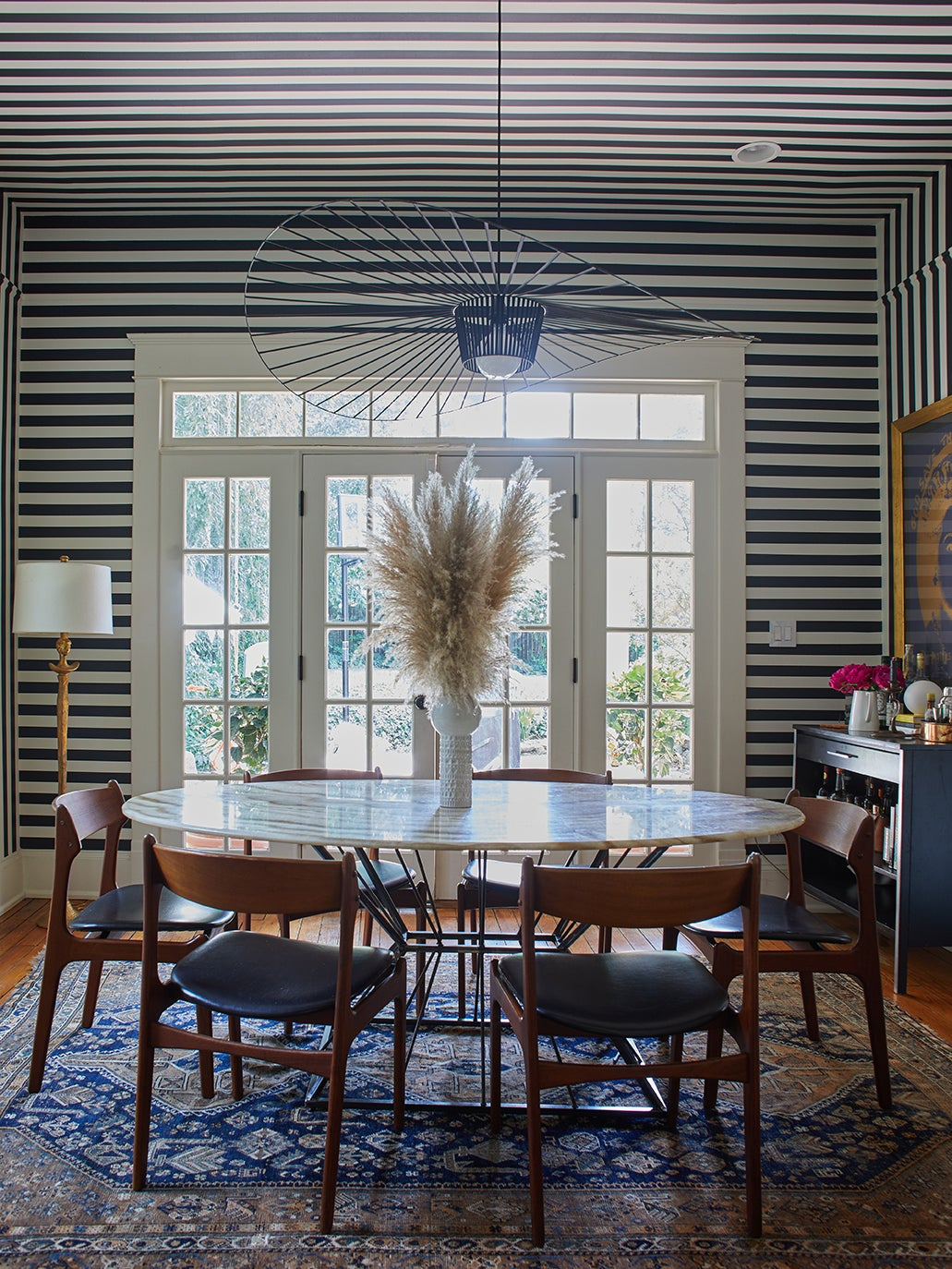 For Her Own Family Home, This Atlanta Designer Discovered Her Inner Earthy Maximalist